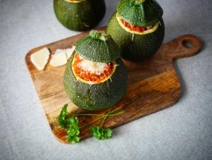 Cukety plněné bulgurem a zeleninou
