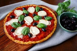 Zdravá květáková pizza
