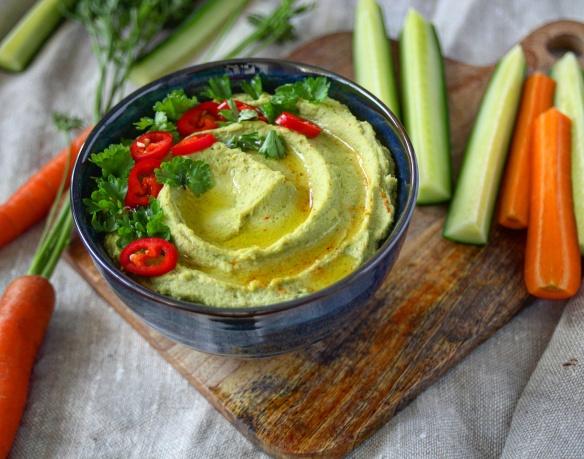 Hummus s bylinkami
