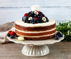 Red velvet cake z červené řepy