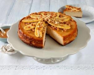 Cheesecake s burákovým máslem